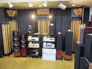 AGS(Acoustic Grove System)の試聴コーナー